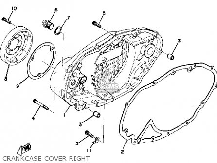 Yamaha TX500 1974 USA parts lists and schematics