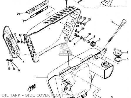 Yamaha Tx750 1973/1974 parts list partsmanual partsfiche
