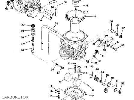 Yamaha Tx750 1974 Usa parts list partsmanual partsfiche