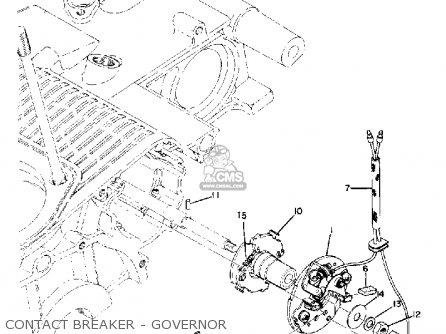 Yamaha TX750 1974 USA parts lists and schematics