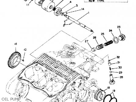 Yamaha TX750 1974 USA parts lists and schematics