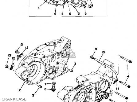 Yamaha TY250 1977 USA parts lists and schematics