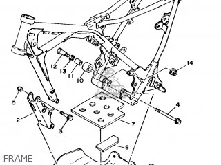 Yamaha TY250R 1986 2AF EUROPE 262AF-300E1 parts lists and