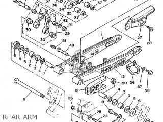 Yamaha Ty250r 1988 3ba Europe 283ba-300e1 parts list