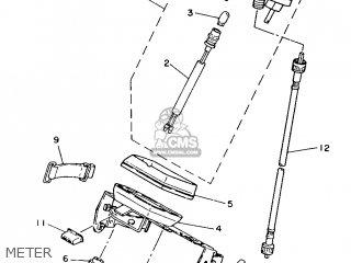 Yamaha TY250S 1988 59N ENGLAND 2859N-310E1 parts lists and