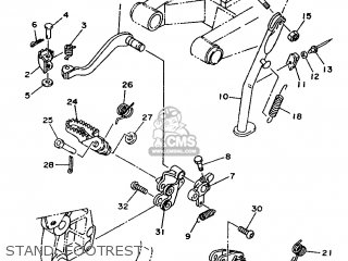 Yamaha Ty250z 1993 4gg2 Europe 234gg-300e1 parts list