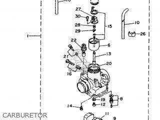 Yamaha Ty250z 1996 4gg8 Denmark 264gg-300e1 parts list