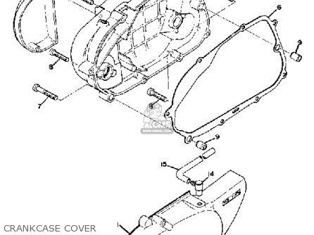 Yamaha Ty80 1974 Usa parts list partsmanual partsfiche