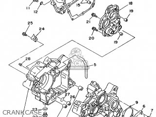 Yamaha Tz125 1994 4jt1 North America 244jt-100e1 parts