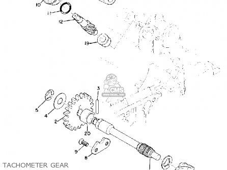 Yamaha Tz250 1972 1973 1974 Usa parts list partsmanual