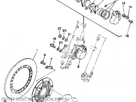 Yamaha TZ250 1978 USA CANADA parts lists and schematics