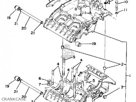 Yamaha TZ250 1980 (A) USA parts lists and schematics