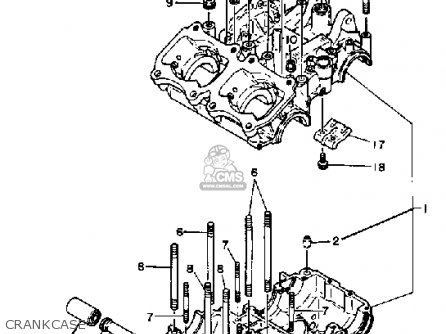 Yamaha TZ250 1981 (B) USA parts lists and schematics