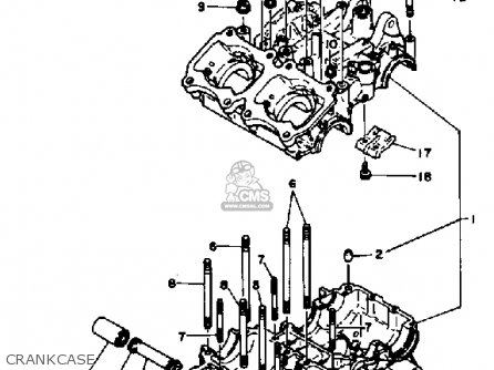 Yamaha Tz250 1982 (c) Usa parts list partsmanual partsfiche