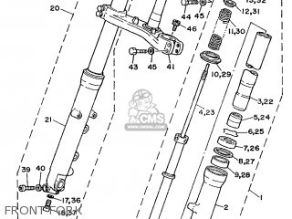 Yamaha TZ250 1989 3LC1 EUROPE 293LC-300E1 parts lists and