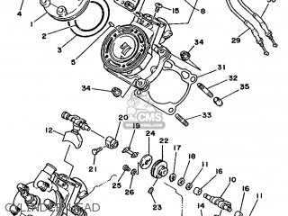 Yamaha TZ250 1990 3TC1 EUROPE 203TC-300E1 parts lists and