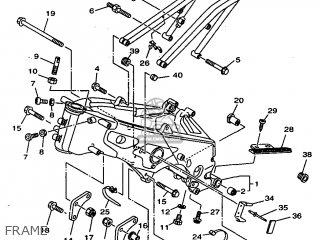 Yamaha TZ250 1998 4TW3 ENGLAND 284TW-100E1B parts lists