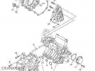 Yamaha TZ250 2001 5KE2 AUSTRALIA 115KE-100E1 parts lists