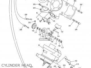 Yamaha TZ250 2001 5KE2 ENGLAND 115KE-100E1 parts lists and