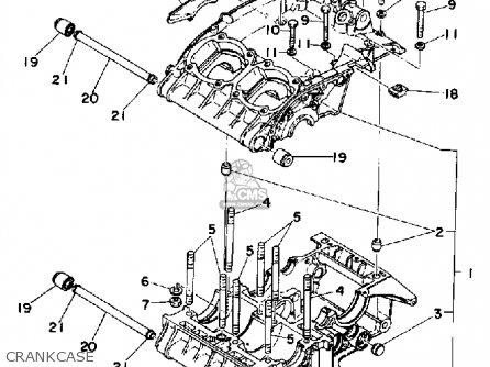 Yamaha TZ250 TZ350 1976 1977 1978 GENERAL EXPORT parts