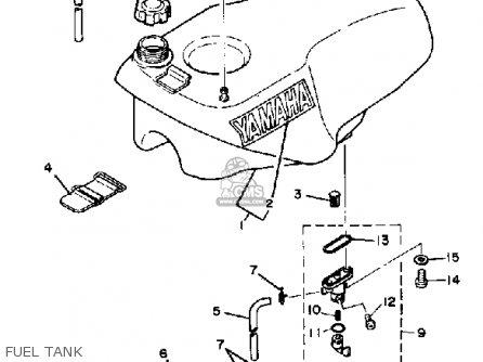 Yamaha Tz250h 1981 parts list partsmanual partsfiche