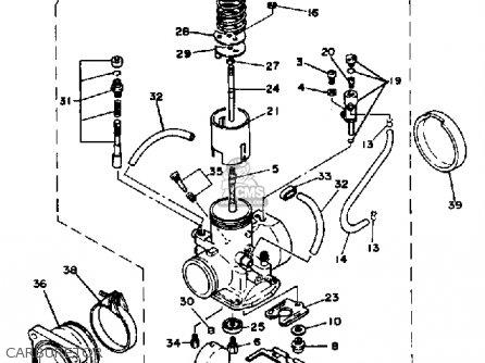 Yamaha Tz250j 1982 parts list partsmanual partsfiche