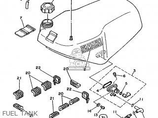 Yamaha Tz250s/tz250 1986 1rk Europe 261rk-300e1 parts list