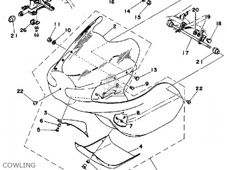 Yamaha Tz350 1978 Usa parts list partsmanual partsfiche