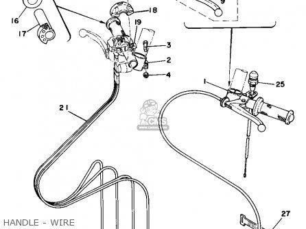 Yamaha Tz750 1977 Usa parts list partsmanual partsfiche