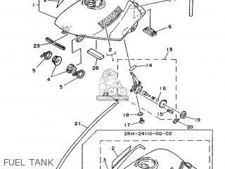 Yamaha Tzr125 1987 2rk England 272rk-310e1 parts list