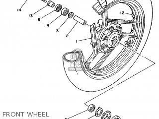 Yamaha TZR125 1988 2RJ SWITZERLAND 282RJ-361E1 parts lists