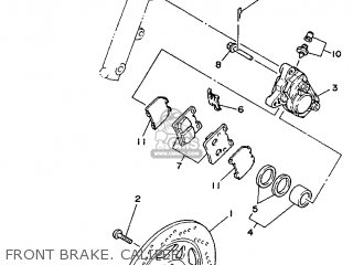 Yamaha Tzr125 1991 3pc3 England 213pc-310e1 parts list