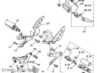 Yamaha TZR125 1993 4JB1 EUROPE 234JB-300E1 parts lists and