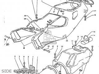 Yamaha TZR125R 1992 4DL1 EUROPE 224DL-300E1 parts lists
