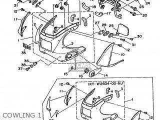 Yamaha TZR250 1987 2MA FRANCE 272MA-351F1 parts lists and