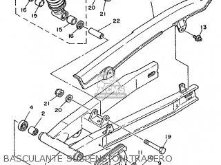 Yamaha TZR80 1987 2UV SPAIN 272UV-352S1 parts lists and