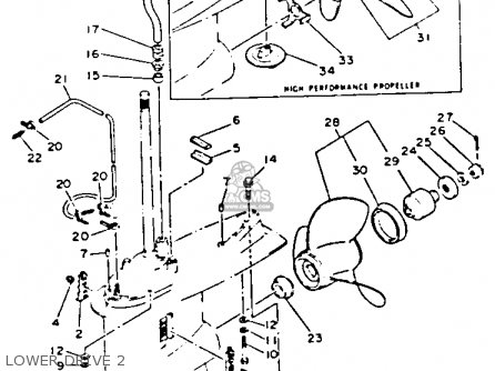 Yamaha V-6 EXCEL H 1987 parts lists and schematics
