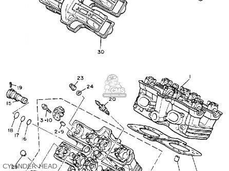 Yamaha V-MAX1200 1985 (F) CALIFORNIA parts lists and