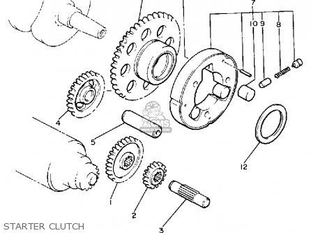 Yamaha V-max1200 1985 (f) California parts list