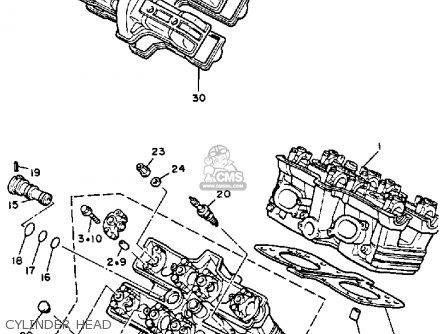 Yamaha V-MAX1200 1986 (G) USA parts lists and schematics