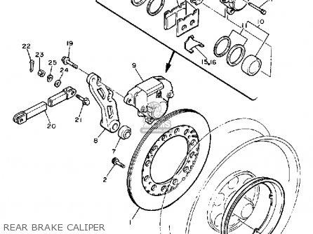 Yamaha V-max1200 1988 (j) Usa parts list partsmanual