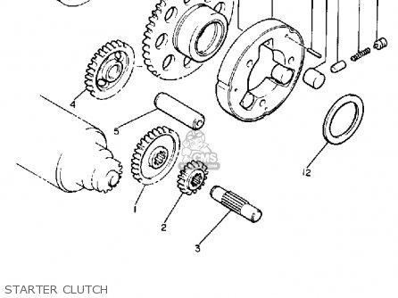 Yamaha V-MAX1200 1989 (K) USA parts lists and schematics