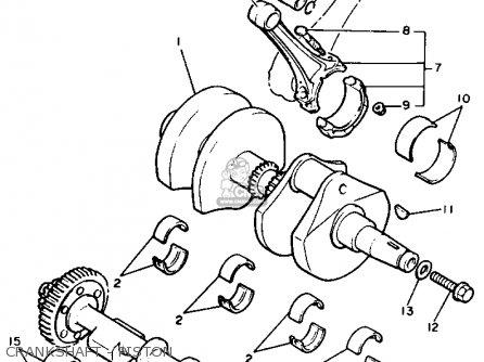 Yamaha V-MAX1200 1990 (L) USA parts lists and schematics