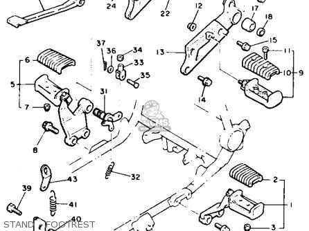 Yamaha V-max1200 1990 (l) Usa parts list partsmanual