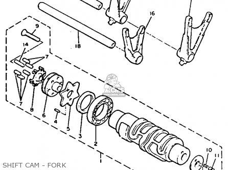 Yamaha V-max1200 1992 (n) Usa parts list partsmanual