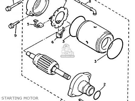 Yamaha V-MAX1200 1992 (N) USA parts lists and schematics