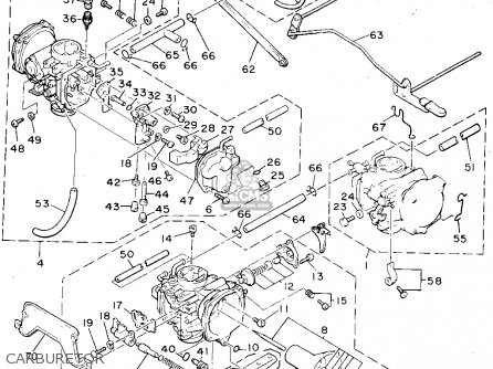 Yamaha V-MAX1200 1994 (R) USA parts lists and schematics