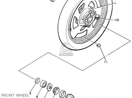 Yamaha V-MAX1200 1995 (S) USA parts lists and schematics