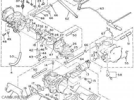 Yamaha V-max1200 V-max1200c 2000 (y) Usa California parts