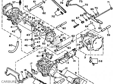 Yamaha Carburetor Hose Diagram, Yamaha, Free Engine Image